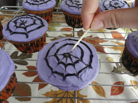 Spider Web Cupcakes Lolly 39 S Sweet Savory Treats