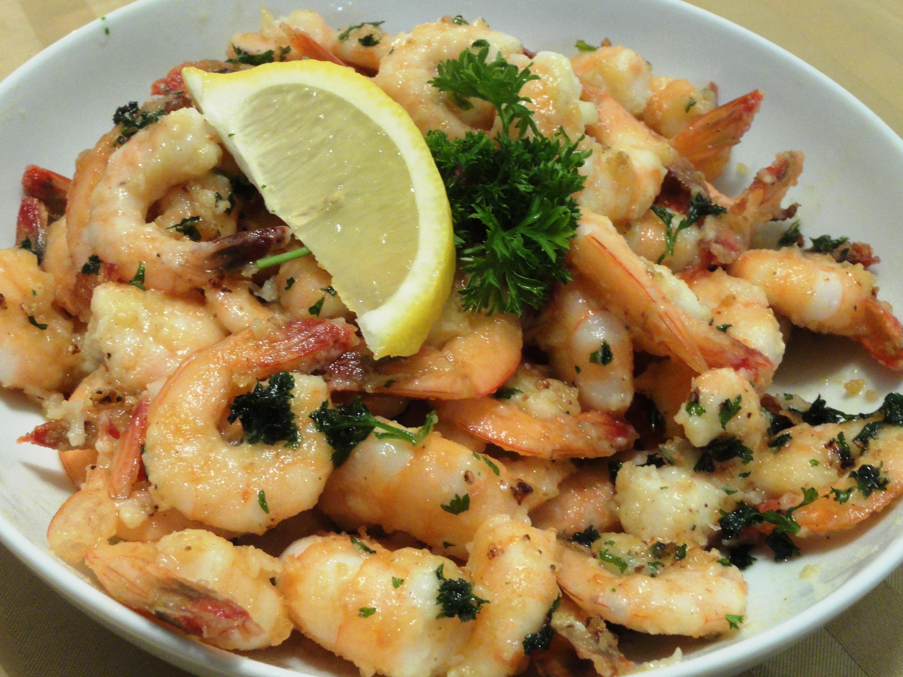 Sauteed Garlic and Lemon Shrimp | Lolly's Sweet & Savory Treats