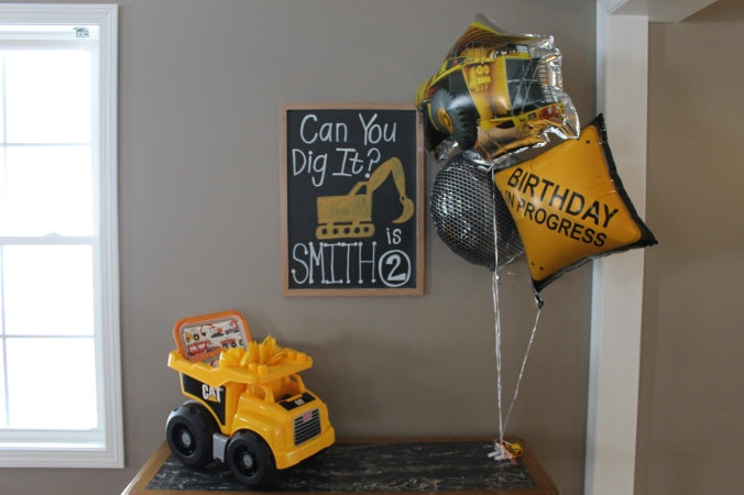 construction birthday party