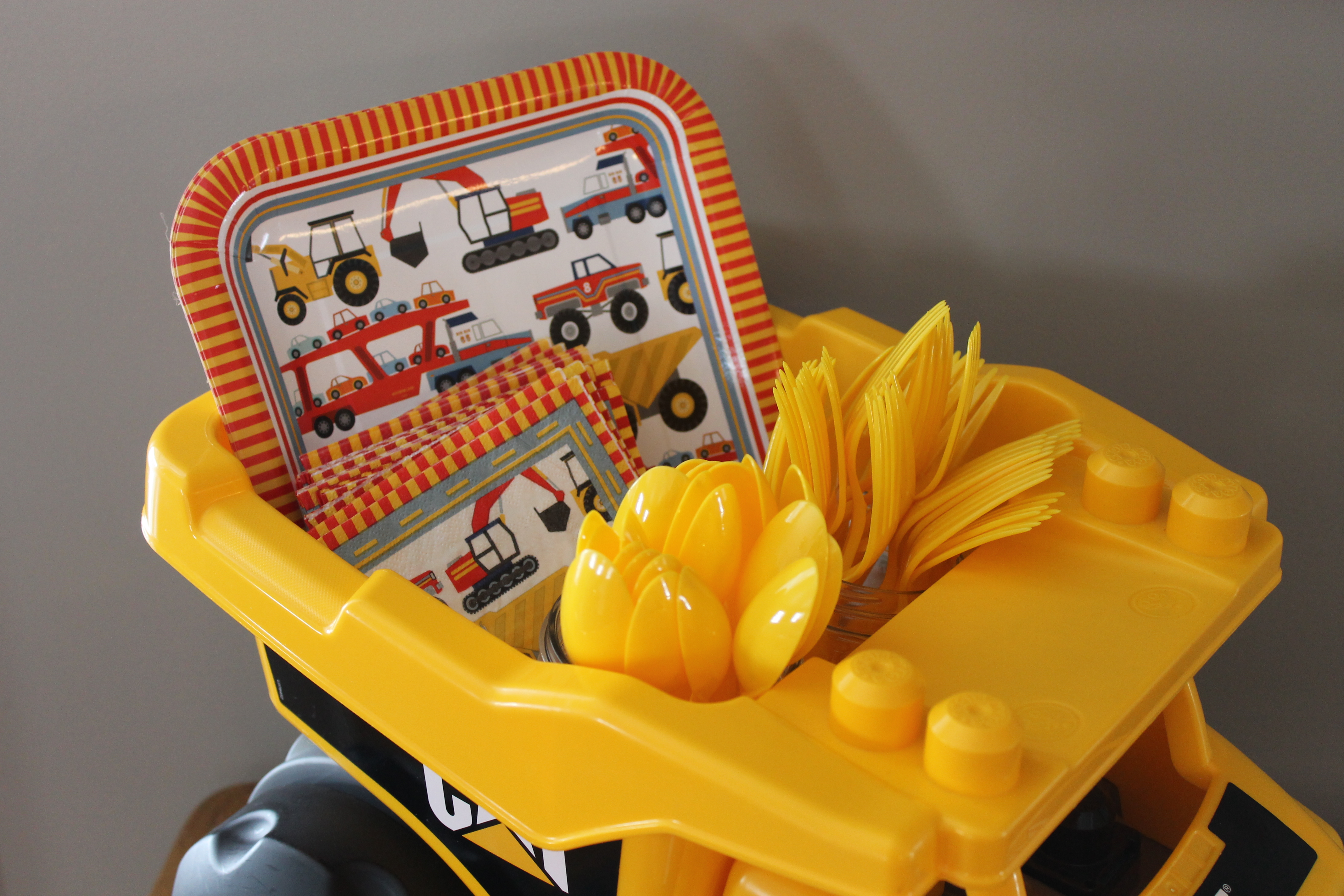 Smiths Construction Themed Second Birthday Party Hickory Creek Lane